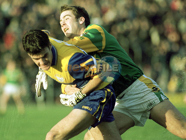 Action from the Meath V Clare match in Navan on Sunday..Picture Paul Mohan Newsfile