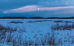 Twilight at Crex Meadows State Wildlife Area in northwestern Wisconsin.