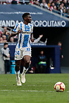 CD Leganes's Kenneth Josiah Omeruo during La Liga match between Atletico de Madrid and CD Leganes at Wanda Metropolitano stadium in Madrid, Spain. March 09, 2019. (ALTERPHOTOS/A. Perez Meca)