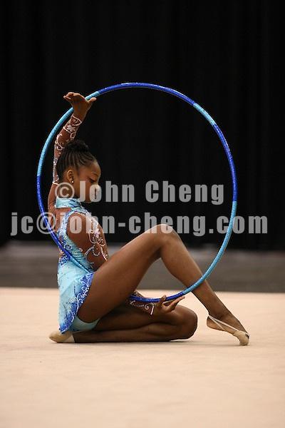 Photo by John Cheng - Pacific Rim Championships in San Jose, Ca.RhythmicsRosemond