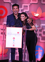 BEVERLY HILLS, CA - OCTOBER 12: ***HOUSE COVERAGE***  Mario Lopez and Eva Longoria at the Eva Longoria Foundation Gala at The Four Seasons Beverly Hills in Beverly Hills, California on October 12, 2017. Credit: Faye Sadou/MediaPunch