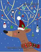 Patrick, CHRISTMAS ANIMALS, WEIHNACHTEN TIERE, NAVIDAD ANIMALES, paintings+++++,GBIDAN138,#xa#