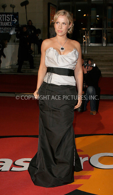 WWW.ACEPIXS.COM . . . . .  ... . . . . US SALES ONLY . . . . .....LONDON, FEBRUARY 9, 2005....Natasha Bedingfield at the 25th Brit Awards, Earls Court.....Please byline: FAMOUS - ACE PICTURES - F. DUVAL... . . . .  ....Ace Pictures, Inc:  ..Philip Vaughan (646) 769-0430..e-mail: info@acepixs.com..web: http://www.acepixs.com