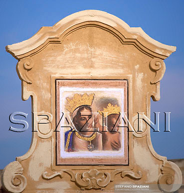 Pope Benedict XVI celebrates a mass at Santa Maria di Leuca's sanctuary,   southern Italy, June 14, 2008...