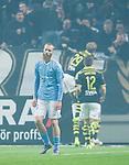 Solna 2015-10-04 Fotboll Allsvenskan AIK - Malm&ouml; FF :  <br /> Malm&ouml;s Jo Inge Berget deppar efter 1-0 av AIK:s Henok Goitom under matchen mellan AIK och Malm&ouml; FF <br /> (Foto: Kenta J&ouml;nsson) Nyckelord:  AIK Gnaget Friends Arena Allsvenskan Malm&ouml; MFF depp besviken besvikelse sorg ledsen deppig nedst&auml;md uppgiven sad disappointment disappointed dejected