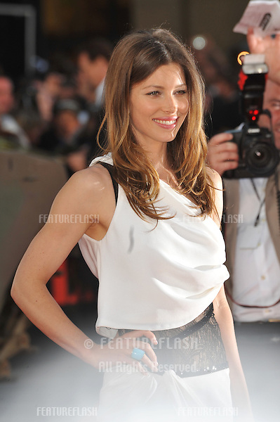 "Jessica Biel at the Los Angeles premiere of her new movie ""The A-Team"" at Grauman's Chinese Theatre, Hollywood..June 3, 2010  Los Angeles, CA.Picture: Paul Smith / Featureflash"