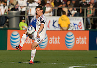 Will Johnson of Real Salt Lake controls the ball during the game against the Earthquakes at Buck Shaw Stadium in Santa Clara, California on March 27th, 2010.   Real Salt Lake defeated San Jose Earthquakes, 3-0.