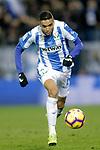 CD Leganes' Youssef En-Nesyri (L)  during La Liga match. November 23,2018. (ALTERPHOTOS/Alconada)
