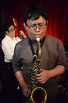 Boplicity, Tainan -- Guest saxophonist playing with Smalls Jazz Combo.