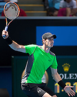 Andy Murray (GBR)<br /> <br /> Tennis - Australian Open 2015 - Grand Slam -  Melbourne Park - Melbourne - Victoria - Australia  - 21 January 2015. <br /> &copy; AMN IMAGES
