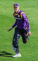 Picture by Harry Whitehead/SWpix.com - 02/05/2014 - T20 County Cricket - Yorkshire Vikings 2nd XI v Lancashire Lightining 2nd XI - Headingley Stadium, Leeds, Yorkshire, England - Jonathan Tattersall