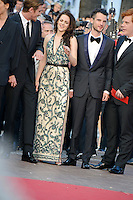 "Kristen Stewart and Tom Sturridge  attending the ""On the Road"" Premiere during the 65th annual International Cannes Film Festival in Cannes, 23.05.2012...Credit: Timm/face to face"