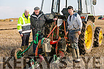 Clashmealcon, Causeway Ploughing Match at Houlihan's farm on Sunday Pictured were l-r  Michael Donegan, Ballyheigue, Jimmy Donegan, Ardfert and Mike McCarthy, Causeway