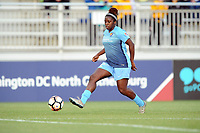Boyds, MD - Saturday May 6, 2017: Mandy Freeman during a regular season National Women's Soccer League (NWSL) match between the Washington Spirit and Sky Blue FC at Maureen Hendricks Field, Maryland SoccerPlex.