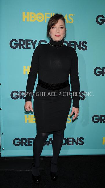 WWW.ACEPIXS.COM . . . . . ....April 14 2009, New York City....Sharon Angela at the HBO Films premiere of 'Grey Gardens' at The Ziegfeld Theater on April 14, 2009 in New York City.....Please byline: KRISTIN CALLAHAN - ACEPIXS.COM.. . . . . . ..Ace Pictures, Inc:  ..tel: (212) 243 8787 or (646) 769 0430..e-mail: info@acepixs.com..web: http://www.acepixs.com