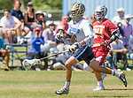 Corona Del Mar, CA 04/02/16 - Will Favreau (Corona Del Mar #4) in action during the non-conference game between the Nike/LM High School Boys' National Western Region #4 Torrey Pines (#4) and #5 Corona Del Mar.  Torrey Pines defeated Corona Del Mar 9-8 in overtime.