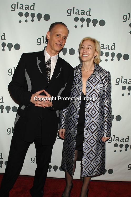 John Waters and Marian Boeski..arriving at The 18th annual GLAAD Media Awards on March 26, 2007 at The Marriott Marquis Hotel in New York...Robin Platzer, Twin Images
