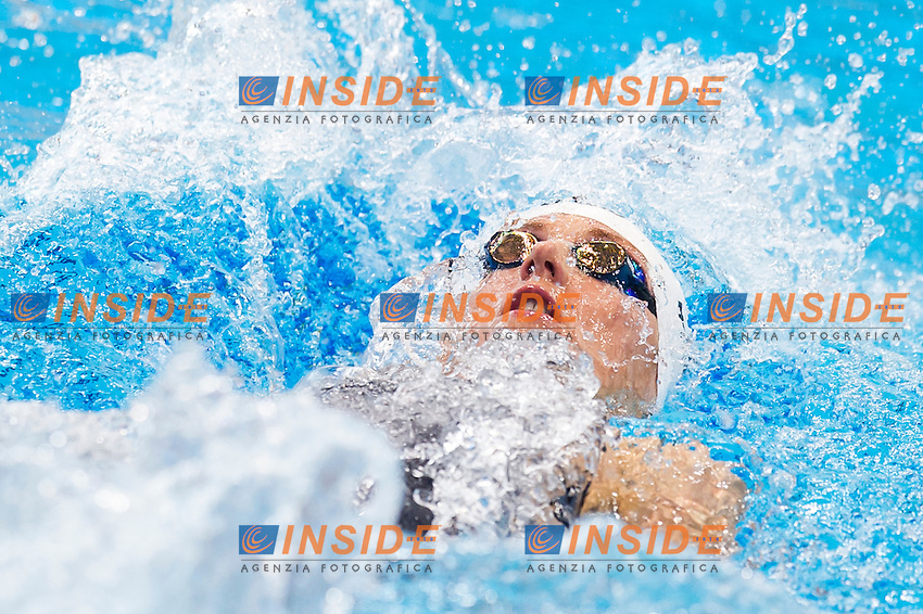 HOSSZU Katinka HUN<br /> London, Queen Elizabeth II Olympic Park Pool <br /> LEN 2016 European Aquatics Elite Championships <br /> Swimming<br /> Women's 400m medley preliminary <br /> Day 08 16-05-2016<br /> Photo Giorgio Perottino/Deepbluemedia/Insidefoto