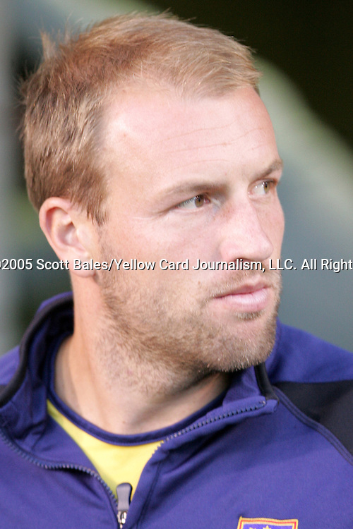 12 October 2005: Real Salt Lake's Clint Mathis. The Colorado Rapids defeated Real Salt Lake 1-0 at Rice-Eccles Stadium in Salt Lake City, Utah in a regular season Major League Soccer game.