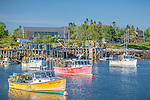 The lobster fishing village of Corea Harbor, Gouldsboro, Maine, USA