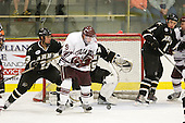 Bill Day (Army - 23), Austin Smith (Colgate - 9), Alex McRae (Army - 8) - The host Colgate University Raiders defeated the Army Black Knights 3-1 in the first Cape Cod Classic at the Hyannis Youth and Community Center in Hyannis, MA.