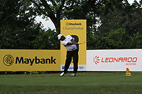M Sasidaran (MAS) in action on the 8th tee during Round 1 of the Maybank Championship at the Saujana Golf and Country Club in Kuala Lumpur on Thursday 1st February 2018.<br /> Picture:  Thos Caffrey / www.golffile.ie<br /> <br /> All photo usage must carry mandatory copyright credit (&copy; Golffile | Thos Caffrey)