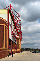A general view of Oakwell, home of Barnsley FC<br /> <br /> Photographer Richard Martin-Roberts/CameraSport<br /> <br /> The EFL Sky Bet League One - Barnsley v Fleetwood Town - Saturday 13th April 2019 - Oakwell - Barnsley<br /> <br /> World Copyright © 2019 CameraSport. All rights reserved. 43 Linden Ave. Countesthorpe. Leicester. England. LE8 5PG - Tel: +44 (0) 116 277 4147 - admin@camerasport.com - www.camerasport.com