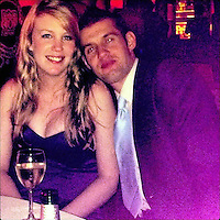 "COPY BY TOM BEDFORD<br /> Pictured L-R: Sian with Jonathan Thomas<br /> Re: A heartbroken bride yesterday (Tues) told how her husband's last words were his wedding vows.<br /> Sian Thomas, 28, was married for just one day before the love of her life Jonathan died of a rare type of cancer.<br /> The pair brought forward their wedding when doctors told them he didn't have long to live.<br /> Jonathan, 30, died in his new wife's arms the day after their emotional bedside ceremony.<br /> Sian said: ""I will never forget the smile on his face when Jonathan knew he'd said all the words in the wedding service.<br /> ""His vows were some of the last words he said to me.<br /> ""He was conscious for the rest of the day but went to sleep and didn't wake up.""<br /> Sian is marking her first wedding anniversary by walking 350 miles to raise funds for people with the same condition Jonathan suffered from.<br /> The pair met and fell in love at university in Newcastle and always knew they would marry one day."