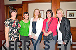 Ballyduff Jubilee Dinner : Attending the Ballyduff Jubilee dinner in Lowe's Bar, Ballyduff on Saturday night last were Rose Houlihan, Anne O'Sullivan, Siobhan Hennessy, Mary O'Sullivan & Amanda Kennelly.