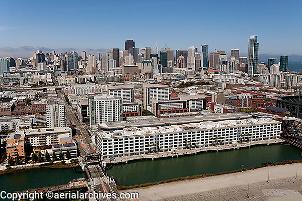 aerial photograph 185 Berry St., San Francisco, California