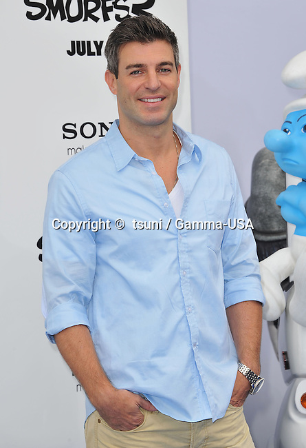 Jeff Schroeder  at the Smurfs 2 Premiere at the Westwood Village Theatre in Los Angeles.