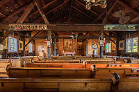 National Shrine of Saint Kateri Tekakwitha in Fonda, New York, USA. Kateri  was the first Native American saint.