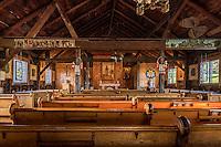 National Shrine of Saint Kateri Tekakwitha in Fonda, New York, USA. Kateri  was the first Native American saint.