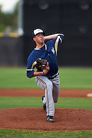 Milwaukee Brewers pitcher Jake Drossner (26) during an instructional league game against the San Diego Padres on October 6, 2015 at the Peoria Sports Complex in Peoria, Arizona.  (Mike Janes/Four Seam Images)