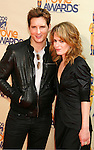 UNIVERSAL CITY, CA. - May 31: Actors Peter Facinelli and Elizabeth Reaser arrive at the 2009 MTV Movie Awards held at the Gibson Amphitheatre on May 31, 2009 in Universal City, California.