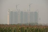 Suburban Building Development in Jing Jin New Town, China.  © LAN