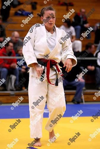 2008-10-18 / Judo / VK Herentals / Dames -63 / F. De Somer (OVL)..Foto: Maarten Straetemans (SMB)