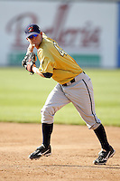 June 24, 2009:  Infielder Ty Summerlin  of the State College Spikes during a game at Eastwood Field in Niles, OH.  The Spikes are the NY-Penn League Short-Season A affiliate of the Pittsburgh Pirates.  Photo by:  Mike Janes/Four Seam Images