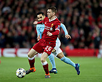 Andrew Robertson of Liverpool during the Champions League Quarter Final 1st Leg, match at Anfield Stadium, Liverpool. Picture date: 4th April 2018. Picture credit should read: Simon Bellis/Sportimage