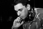 Adam Goldstein, known professionally as DJ/AM, plays a set to a capacity crowd at trendy Vancouver hot-spot 'Pop Opera', May 21, 2009.  (Scott Alexander/Pressphotointl.com)
