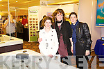 Kerry, Mags and Julieann Relihan, Listowel pictured at the Kerry ideal homes exhibition at the Brandon hotel on Sunday.