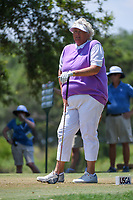 Laura Davies (ENG) watches her tee shot on 5 during round 1 of the 2019 US Women's Open, Charleston Country Club, Charleston, South Carolina,  USA. 5/30/2019.<br /> Picture: Golffile | Ken Murray<br /> <br /> All photo usage must carry mandatory copyright credit (© Golffile | Ken Murray)