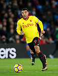 Watford's Troy Deeney in action during the premier league match at Selhurst Park Stadium, London. Picture date 12th December 2017. Picture credit should read: David Klein/Sportimage