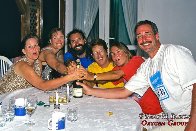 Martha, Joanne, Nilakanthan, Janice, Delphine & David