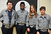 Apr 24, 2014: METRONOMY - Photosession in Paris France