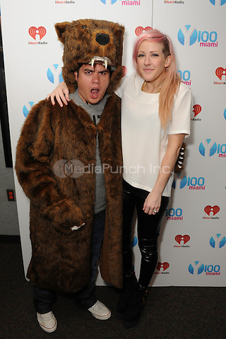MIAMI - SEPTEMBER 18:  Ellie Goulding visits Y-100 Radio station on September 18, 2012 in Miami, Florida. Credit: mpi04/MediaPunch