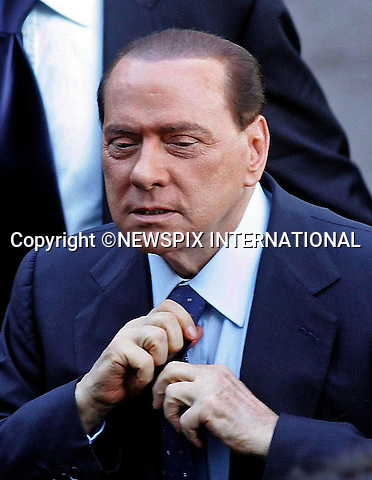 "SILVIO BERLUSCONI_Italian Prime Minister.Assembly of Confindustria Monza and Brianza, Autodromo Nazionale di Monza, Monza_13/10/2009.Mandatory Credit Photo: ©NEWSPIX INTERNATIONAL..**ALL FEES PAYABLE TO: ""NEWSPIX INTERNATIONAL""**..IMMEDIATE CONFIRMATION OF USAGE REQUIRED:.Newspix International, 31 Chinnery Hill, Bishop's Stortford, ENGLAND CM23 3PS.Tel:+441279 324672  ; Fax: +441279656877.Mobile:  07775681153.e-mail: info@newspixinternational.co.uk"