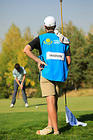 Cormac Sharvin (NIR) in action during the second round of the Kazakhstan Open presented by ERG played at Zhailjau Golf Resort, Almaty, Kazakhstan. 14/09/2018<br /> Picture: Golffile | Phil Inglis<br /> <br /> All photo usage must carry mandatory copyright credit (© Golffile | Phil Inglis)
