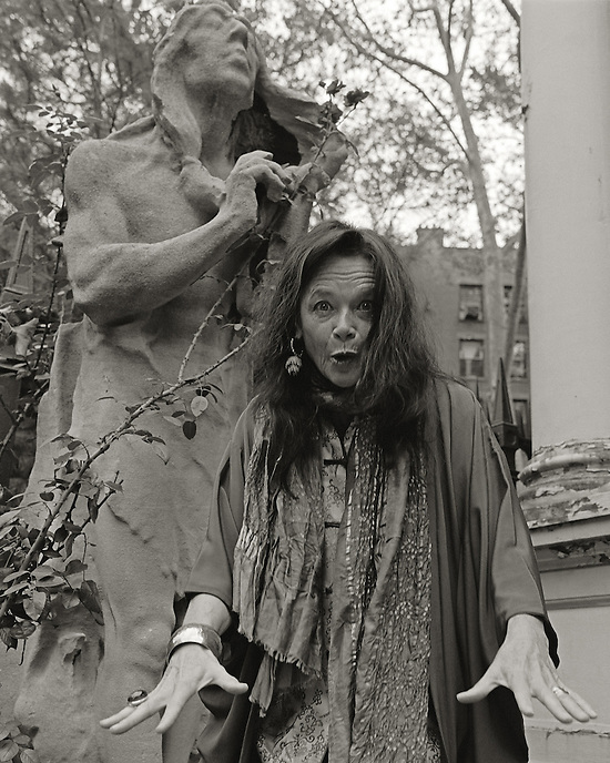 Anne Waldman, 2005.  Poet, co-founder, Jack Kerouac School of Disembodied Poetics, Naropa University.