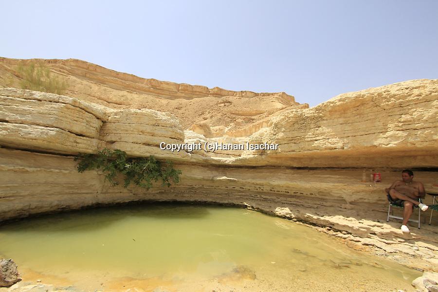 Israel, Negev, Ein Um Tina in Wadi Zarhan